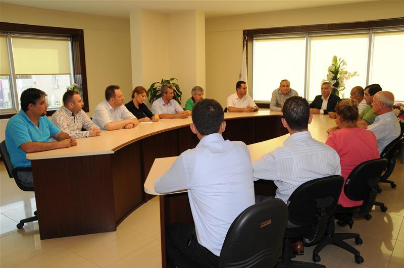 Kent Konseyi Yürütme Kurulu İnşaat Mühendisleri Odası'nı ziyaret etti