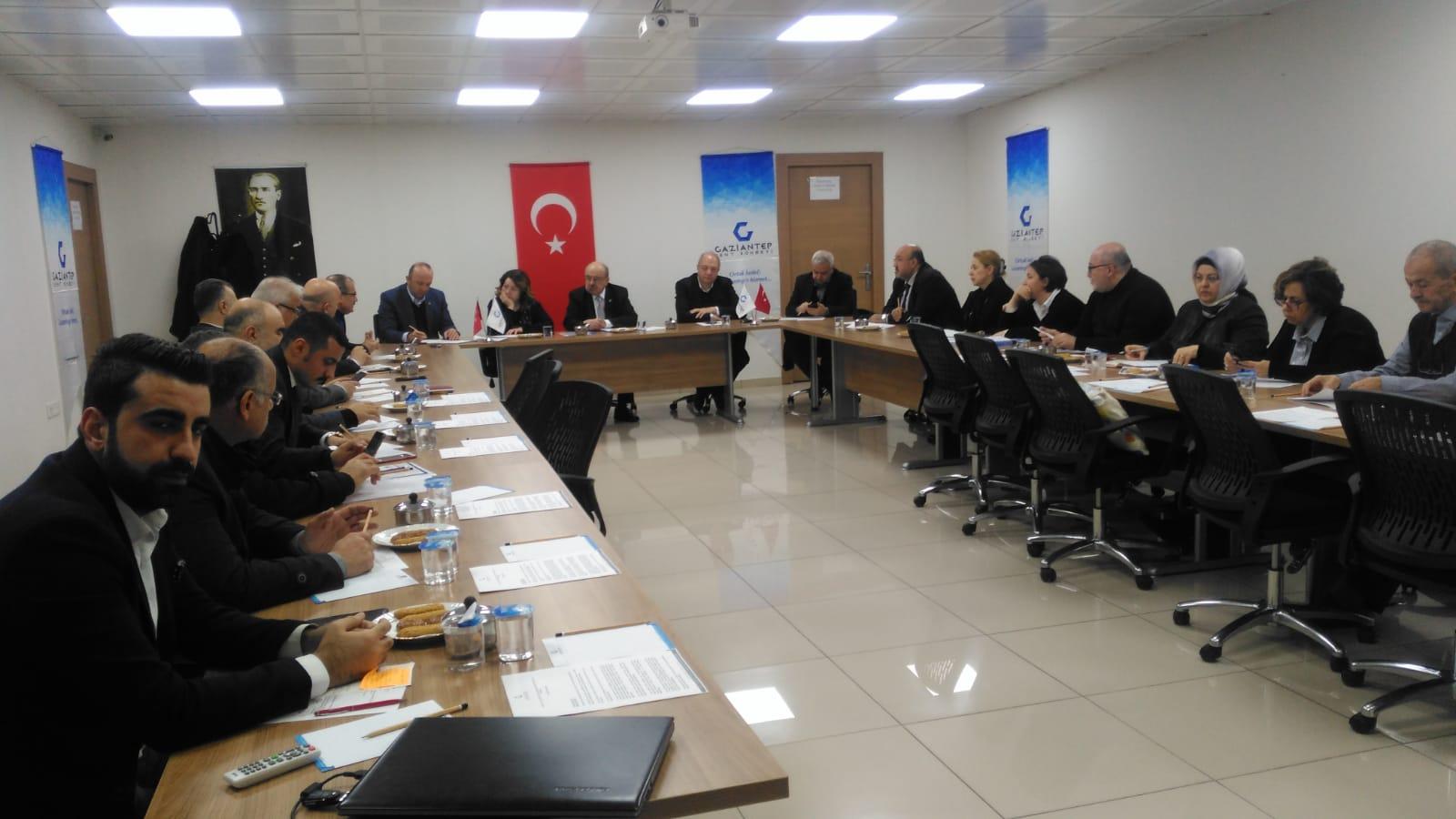 Meclis ve Çalışma Grupları Ortak Toplantı
