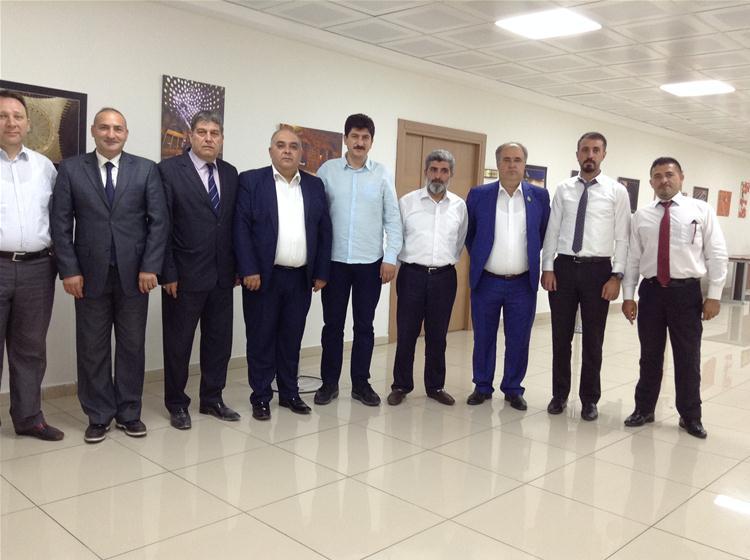 Gaziantep İl ve İlçe Dernekleri Federasyonu, Kent Konseyini Ziyaret Etti