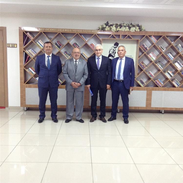 GAZDAŞ Genel Müdüründen Nazik Ziyaret