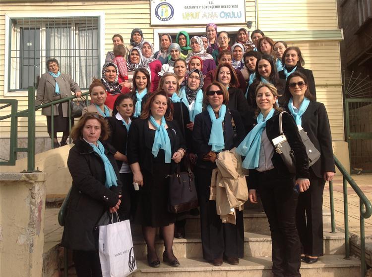 Kadın Meclisinin Umut Anne, Çocuk Merkezini Ziyareti