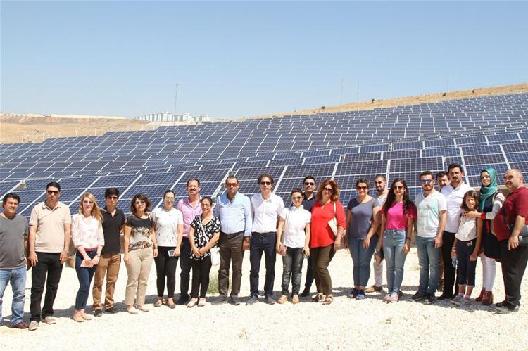 1 Mw Güneş Enerjisi Santraline Teknik Gezi