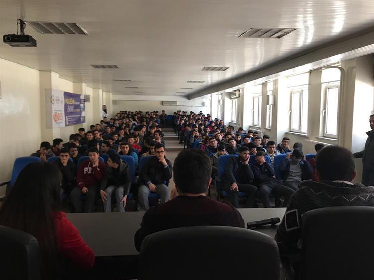 Mehmet Rüştü Uzel M.T Anadolu Lisesi ile Kariyer Sohbetlerinde Final Yaptık