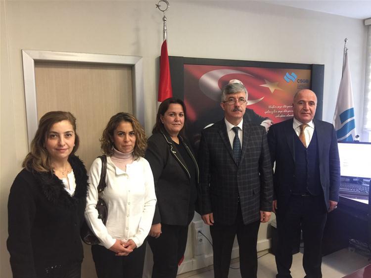 İş Sağlığı ve Güvenliği Çalışma Grubu Raporunu Ankara'ya Taşıdı