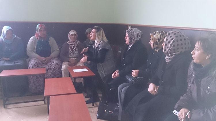 Kadın Meclisi Vizyon Geliştirme Komisyonu Köy Ziyaretinde Bulundu