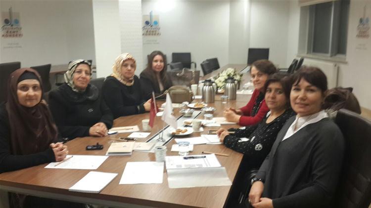 Sosyal Yardımlaşma Komisyonu İşbaşında
