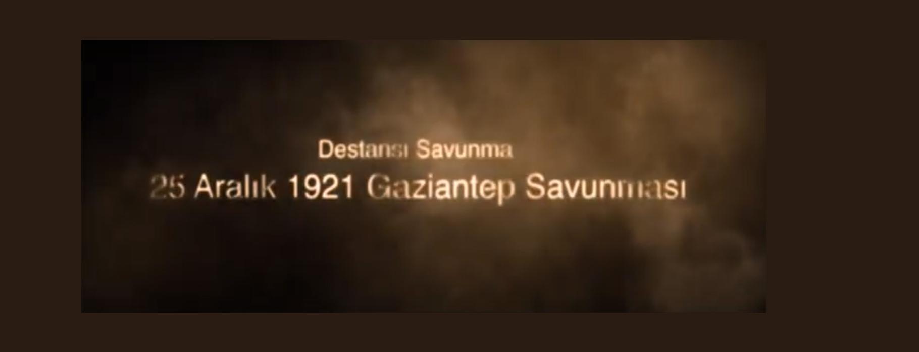 Gaziantep'in Kurtuluşu (Mor Sümbüllü Bağlarım Şiiri)